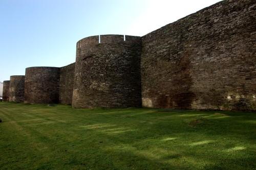 Murallas romanas (Lugo)